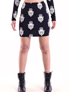 Hand Of God' Skirt by Youreyeslie.com Online store> Get it for $21