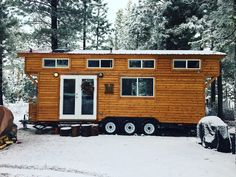 LUXURY TINY HOUSE IN BEND (280 SQ FT)