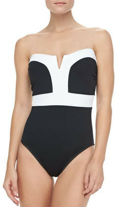 LaBlanca Milano Two-Tone One-Piece Swimsuit on shopstyle.com
