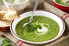 Easy and delicious, even the kids will love this broccoli, spinach and potato soup.