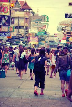 Khao San Road Bangkok Thailand  Been there, Donne that