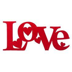 Ornamento Parede Love Hearts - Col. Exclusiva