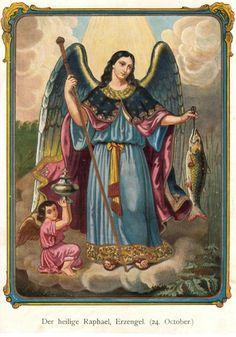 Kedves Jó Urunk köszönjük neked Rafael arkangyalt