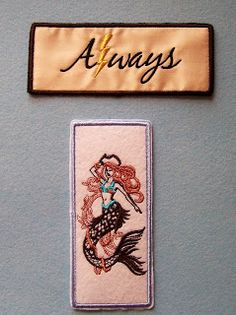 I've been running the embroidery machine to store of my stash of  bookmarks.   In the current weeks run, I made 2 new bookmarks, as wel...