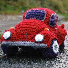 Hug-a-Bug Cuddly Crocheted Car | Craftsy