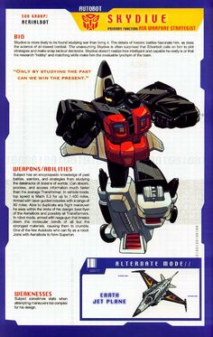 Transformer of the Day: Skydive
