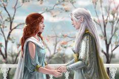 Nerdanel and Míriel by ElfinFen tego spotkania chyba nie było. .?
