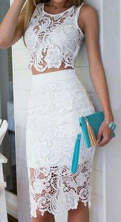 Vestido blanco-ceñidoo