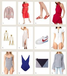 Style Me Grasie / style me wants : red, white, and blue //  #Fashion, #FashionBlog, #FashionBlogger, #Ootd, #OutfitOfTheDay, #Style