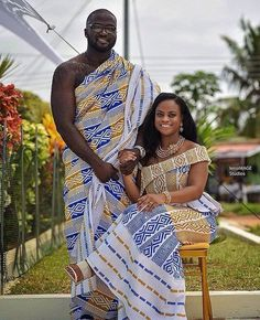 Image may contain: 1 person, standing, beard and outdoor Couples African Outfits, African Fashion Ankara, Latest African Fashion Dresses, African Dresses For Women, African Print Fashion, Ghana Fashion, African Print Dress Designs, African Print Dresses, African Wedding Attire