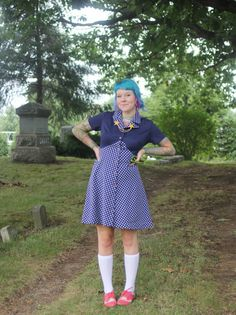 The Dainty Squid: what I wore: knee high
