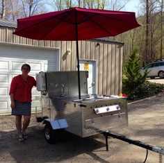 The Big Hot Dog Cart is durable and spacious. Each purchase comes with a hot dog cart water heater at no additional cost. Big Hot Dog, Hot Dogs, Hot Dog Cart, Water Faucet, Patio, Sinks, Outdoor Decor, Freedom, Cold