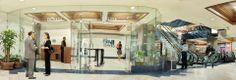 Las torres de oficinas de Unicentro son accesibles desde el lobby del centro comercial del mismo nombre. Tras visitarlas, aprovecha para comer en su FoodCourt y hacer compras en su variada oferta de tiendas.