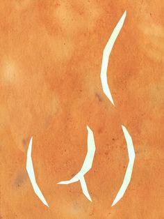 SILHOUETTE OF A GIRL ON A WATERCOLOR BACKGROUND - urbanarts Canvas Wall Art, Canvas Prints, Art Prints, Female Body Art, Female Torso, Modern Prints, Female Bodies, Printable Wall Art, Fine Art Paper