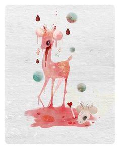 blood, faun, and surrealism image