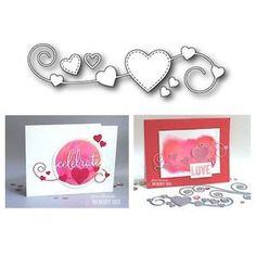 Memory Box Dies Homespun Heart 99374 | eBay