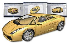 SolidWorks Gallardo - just a cool design done in Solidworks