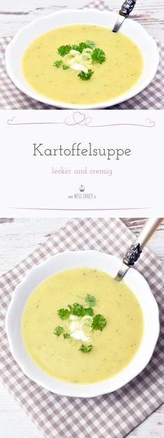 Soulfood? Regentagessen? Großfamilie? Kartoffelsuppe passt einfach zu allen Gelegenheiten, hier zeige ich dir mein Rezept. #Kartoffelsuppe #Suppen