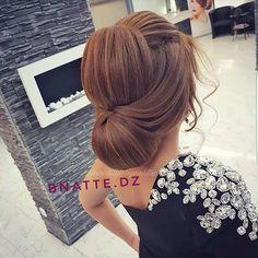 Pin by malak Koko on تسريحات in 2019 Great Hairstyles, Wedding Hairstyles For Long Hair, Elegant Hairstyles, Wedding Hair And Makeup, Bride Hairstyles, Hairstyles Haircuts, Bridal Hair, Hair Makeup, Hair Upstyles