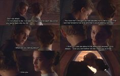 Anakin and Padmé. I love you. One of the cutest scenes in Episode II.