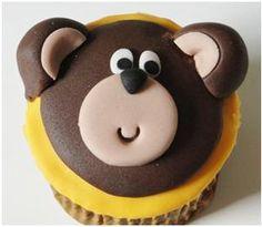 Passo a Passo Cupcake de Ursinho por Gi Ferreira do Bona Pars