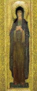 Святая Великомученица, 1907. Фрагмент Пермского иконостаса