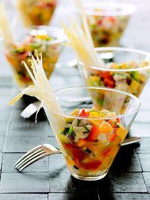 Grouper Ceviche with Mango, Citrus, and Cilantro - (Free Recipe below)