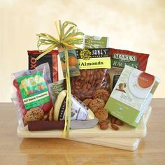 Organic Snacks Gift Assortment  *** Details on this gift can be viewed by clicking the VISIT button