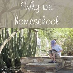 Homeschooling is such a blessing to our family. Read why we chose to homeschool our children and why it's important to articulate your reasons for home educating your children.