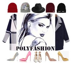 """polyfashion"" by goodruth ❤ liked on Polyvore featuring moda, WithChic, Jimmy Choo, Christian Louboutin, Gianvito Rossi, BeckSöndergaard, Neff, NLY Accessories, women's clothing e women"