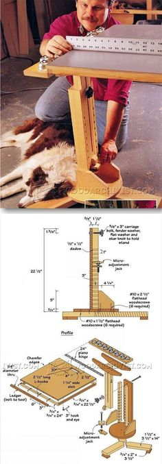DIY Outfeed Support - Table Saw Tips, Jigs and Fixtures   WoodArchivist.com