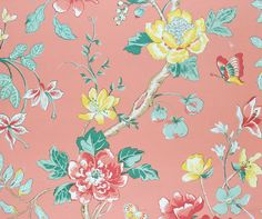 Bob Collins wallpaper & fabric | Inspired by Bermuda | Pinterest