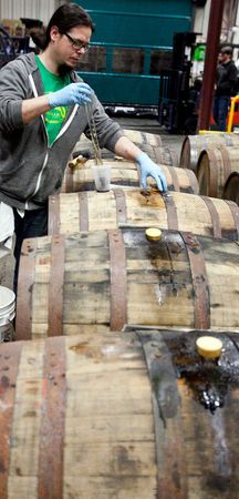 The KBS story: How a barrel-aged stout became a craft beer phenomenon. On Tuesday, the first KBS Week begins around Grand Rapids. Fifteen bars and restaurants are getting a Kentucky Breakfast Stout keg and their own release party in an attempt by Founders to spread the love this year. The brewery has partnered with Grand Rapids hoteliers to offer special room and merchandise packages to beer aficionados traveling from afar.