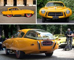 1952 Pegaso Z-102 Cupola: rare and beautiful (strange?) - only one surviving