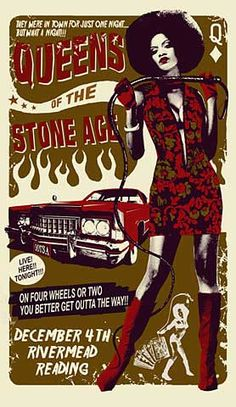 Queens of the Stone Age posters