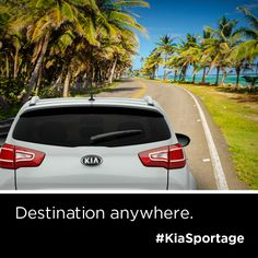 Paradise is only a road away. The Kia Sportage. http://www.kia.com/us/en/vehicle/sportage/2014/experience?story=hello&cid=socog