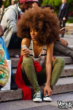 love the afropunk look