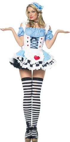 adult miss wonderland costume party city