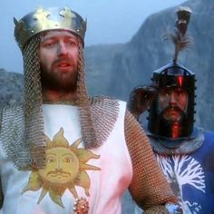 "Don't run away! This modern trailer recut for ""Monty Python and the Holy Grail"" is made of sooooo much win. Lurve it!!!"