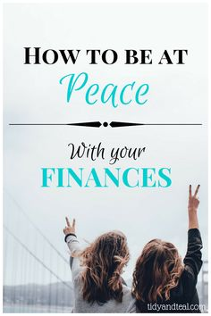 How to Be at Peace with Your Finances. Are you beyond stressed over your finances? It's time for a change! Check out this post for some tips on how to be at peace with your finances | Save Money | Personal Finance | Financial Tips |