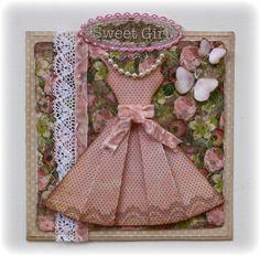 bo bunny birthday cards   Bo Bunny: cute card w/ pattern