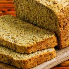Receita de Pão de Linhaça Dourada sem Glúten - 7 colheres (sopa) de farinha de arroz, 6 colheres (sopa) de amido de milho, 2 colheres (sopa) de fermento quí...