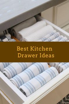 DIY Kitchen Drawer Ideas #diykitchendrawer #drawer Diy Kitchen, Kitchen Ideas, Kitchen Decor, Kitchen Organization, Organizing, Drawer Inspiration, Drawer Ideas, Drawer Design, Kitchen Drawers