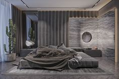 Park Avenue 140 on Behance Simple Bedroom Design, Master Bedroom Interior, Bedroom Closet Design, Bedroom Furniture Design, Home Room Design, Bed Design, Home Bedroom, Modern Bedroom, Living Room Designs