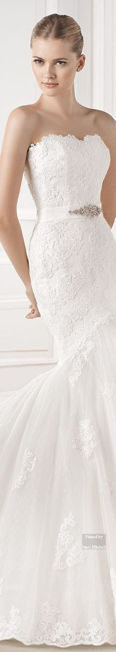 lasposa BARCELONA 2015 Wedding DRESS Collection #coupon code nicesup123 gets 25% off at  www.Provestra.com www.Skinception.com and www.leadingedgehealth.com