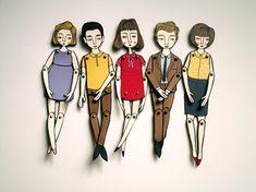 Paper Dolls + Paper Puppets  
