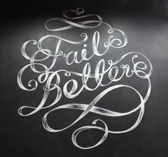 Fail Better mural / MaricorMaricar , via Behance