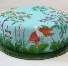 1000+ images about Painted icing on Pinterest Painted cakes, Hand painted cakes and How to paint
