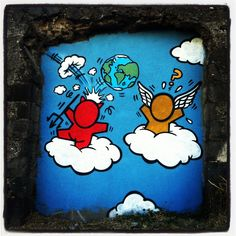 Gouzou by Jace, St Pierre, Reunion Island, Street Art