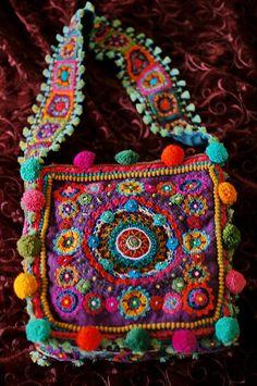 Boho Bright ~ Crochet Delight Bag | Aow Dusdee | Flickr